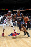Charlotte Bobcats v Atlanta Hawks: Boris Diaw and Josh Smith