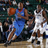 Tulsa 66ers v Texas Legends: Elijah Millsap and Rece Hampton