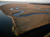 An Aerial View of Cumberland Island  Georgia
