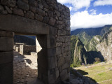 Machu Picchu  a Famous Incan Archaeological Site  in Peru