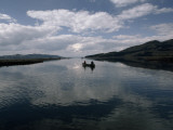 Serene Waters of the Southeast Arm of Yellowstone Lake Invite Quiet Canoeing