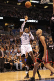 Miami Heat v Orlando Magic: Dwight Howard and Zydrunas Ilgauskas