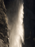 Bridalveil Fall Thunders to the Valley Floor in Yosemite Valley