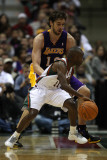 Los Angeles Lakers v Milwaukee Bucks: Earl Boykins and Pau Gasol