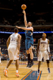 Minnesota Timberwolves v Charlotte Bobcats: Kevin Love and Boris Diaw