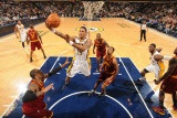 Cleveland Cavaliers  v Indiana Pacers: Brandon Rush and Ramon Sessions