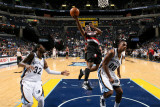 Portland Trail Blazers v Memphis Grizzlies: Wesley Matthews  Darrell Arthur and OJ Mayo