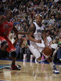 Chicago Bulls v Dallas Mavericks: Caron Butler and Luol Deng