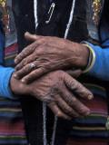 A Tibetan Woman's Hands