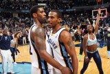 Los Angeles Lakers v Memphis Grizzlies: OJ Mayo and Mike Conley