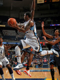 Charlotte Bobcats v Memphis Grizzlies: OJ Mayo and Kwame Brown