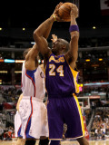 Los Angeles Lakers v Los Angeles Clippers: Kobe Bryant and Eric Gordon
