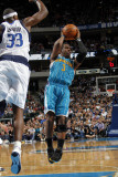 New Orleans Hornets v Dallas Mavericks: Chris Paul and Brendan Haywood