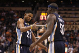 Memphis Grizzlies v Phoenix Suns: Rudy Gay and Zach Randolph