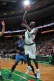 Washington Wizards v Boston Celtics: Kevin Garnett and JaVale McGee