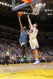 Minnesota Timberwolves v Golden State Warriors: Corey Brewer and Vladimir Radmanovic