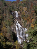 Scenic Whitewater Falls in Autumn