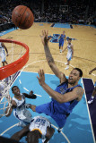 Dallas Mavericks v New Orleans Hornets: Tyson Chandler  Emeka Okafor and Chris Paul