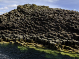 Basalt Columns Near Fingal's Cave on the Isle of Staffa