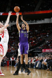 Sacramento Kings v Houston Rockets: Omri Casspi and Chase Budinger