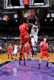 Houston Rockets v Sacramento Kings: Samuel Dalembert and Jordan Hill