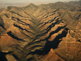 Aerials of Mountainous Ridges in Range Creek  Utah