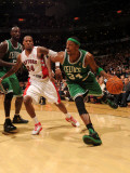Boston Celtics v Toronto Raptors: Paul Pierce and Sonny Weems