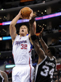 San Antonio Spurs v Los Angeles Clippers: Blake Griffin and Antonio McDyess