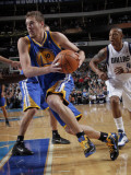 Golden State Warriors v Dallas Mavericks: David Lee and Caron Butler