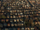 An Aerial View of a Residential Neighborhood in Charleston