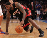 Miami Heat v New York Knicks: LeBron James