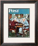 """April Fool  1943"" Saturday Evening Post Cover  April 3 1943"