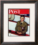 &quot;Willie Gillis in Church&quot; Saturday Evening Post Cover  July 25 1942