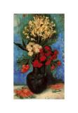 Vase with Carnations and Other Flowers, c.1886 Giclée par Vincent Van Gogh
