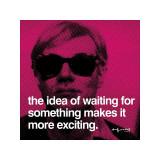 Délicieuse attente Giclée par Andy Warhol
