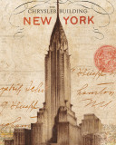Letter from New York Reproduction d'art par Hugo Wild