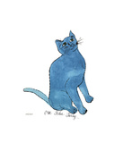 One Blue Pussy  c1954