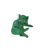 Green Cat  c1956