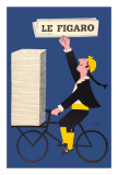 Le Figaro Reproduction d'art par Raymond Savignac