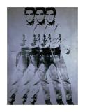 Elvis, 1963 (triple Elvis) Giclée par Andy Warhol