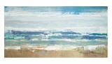 Pastel Waves Reproduction d'art par Peter Colbert
