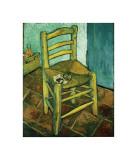 La chaise à la pipe Giclée par Vincent Van Gogh