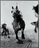 Seabiscuit Moves Ahead of War Admiral  1938