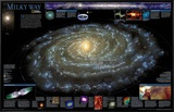 Milky Way Chart - Spaceshots