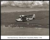 Inter-Island Airways  Sikorsky S-43  Kaunakakai  Molokai  Hawaii  1936