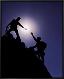 Teamwork: Climbers