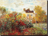The Artist&#39;s Garden in Argenteuil
