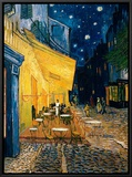 The Caf&#233; Terrace on the Place du Forum  Arles  at Night  c1888