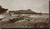 In Front of Outrigger Canoe Club  Waikiki Beach  Hawaii  1917