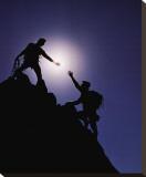 Teamwork: Climbers